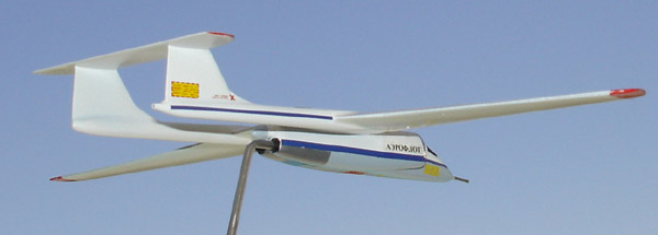 # zhopa027 M-55 high altitude aircraft of Myasishchev OKB 3